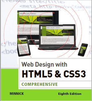 Web Design with HTML5 and CSS3 COMPREHENSIVE